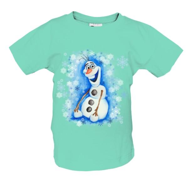 Tričko s potiskem Ručně kreslený Olaf  5bb18f63df