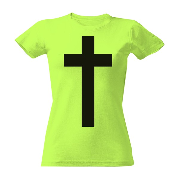 e3a8bbb65bbf Tričko s potiskem Kříž