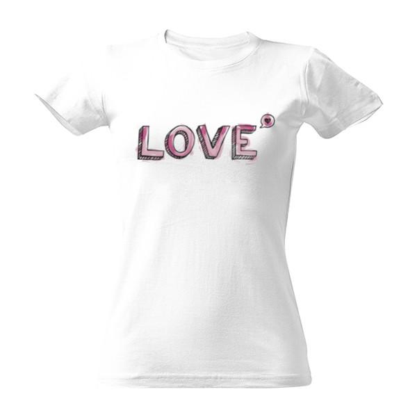 10060fb08e09 Tričko s potiskem LOVE
