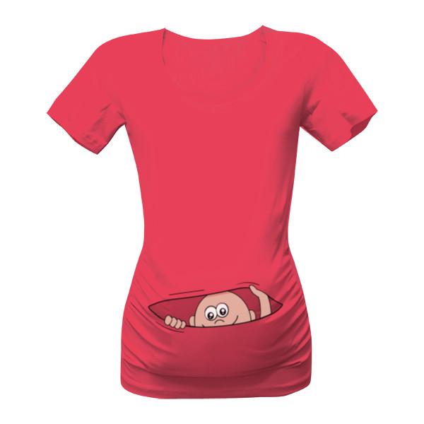 28b4713136fc Tričko s potiskem Mimino v kapse