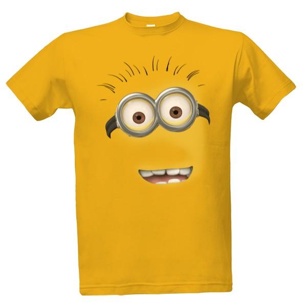 T-shock tričko s potiskem Mimoň obličej pánské 090a77e291
