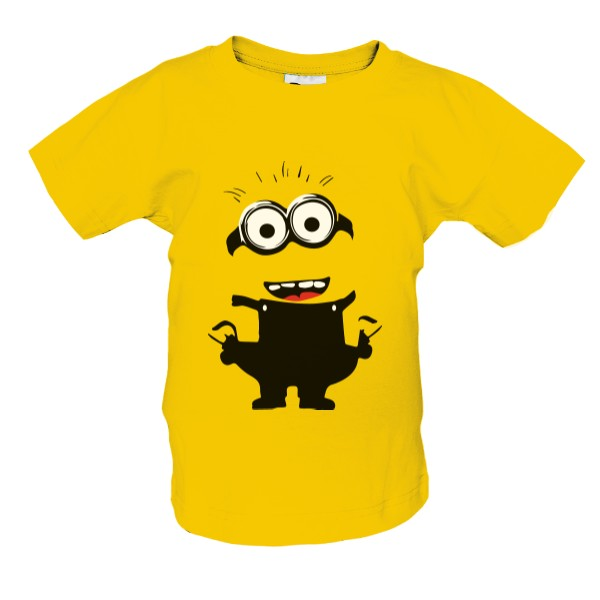 Minion figure T-shirt