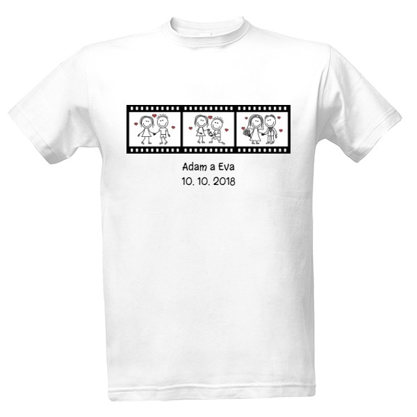 our wedding day - movie T-shirt