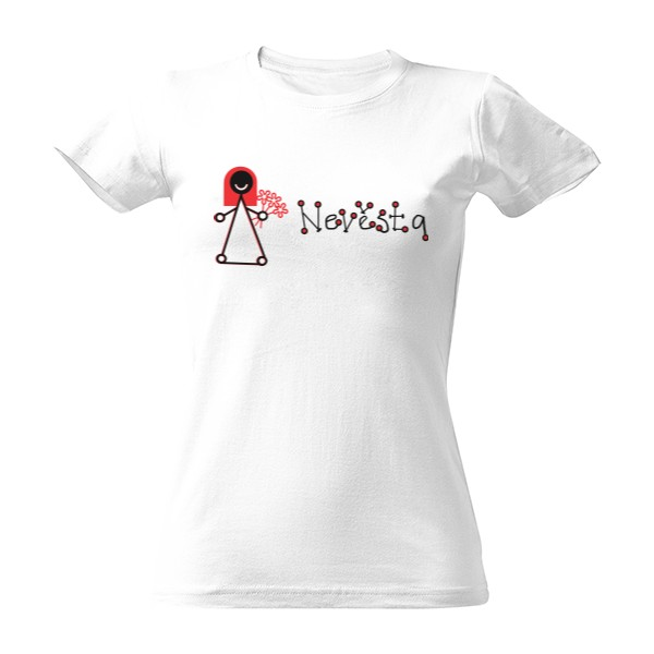 Tričko s potiskem Nevěsta f936523441