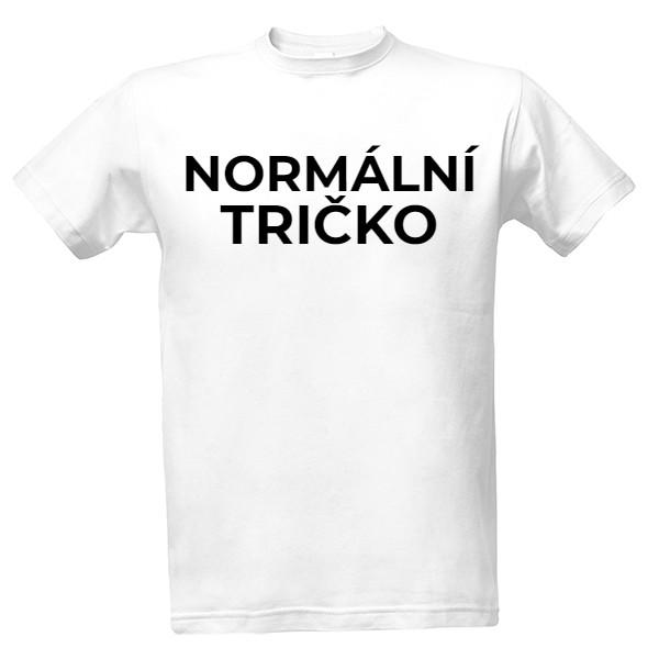 ff32969b014e Tričko s potiskem normální tričko