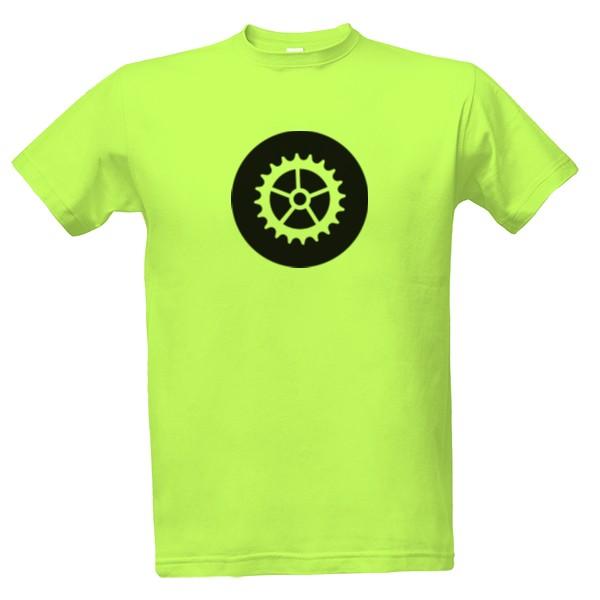 tričko s potiskem Ozubené kolo pánské