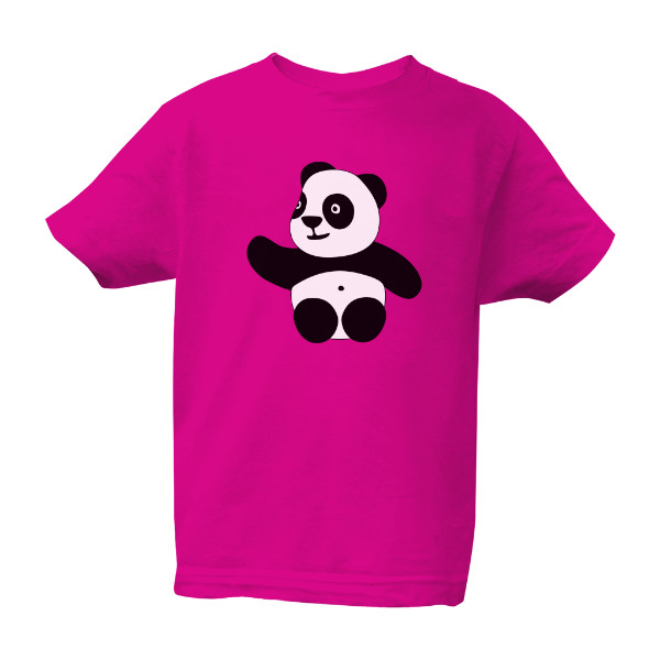 Kids' T-shirt Bio neutral s potiskem Panda