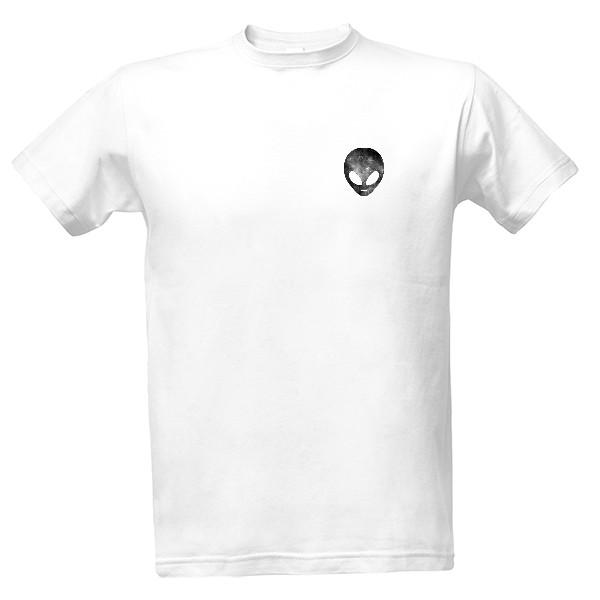 a30a3254cd36 Tričko s potlačou Pánské triko Grey Alien