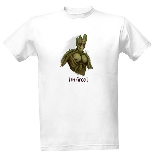 eac42e9a854e Tričko s potlačou Pánské triko I´m Groot