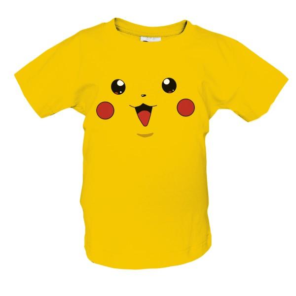 T-shock tričko s potiskem Pikachu dětské Zlatá 86–94