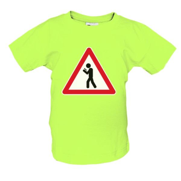 Attention, mobile slaves! kids T-shirt