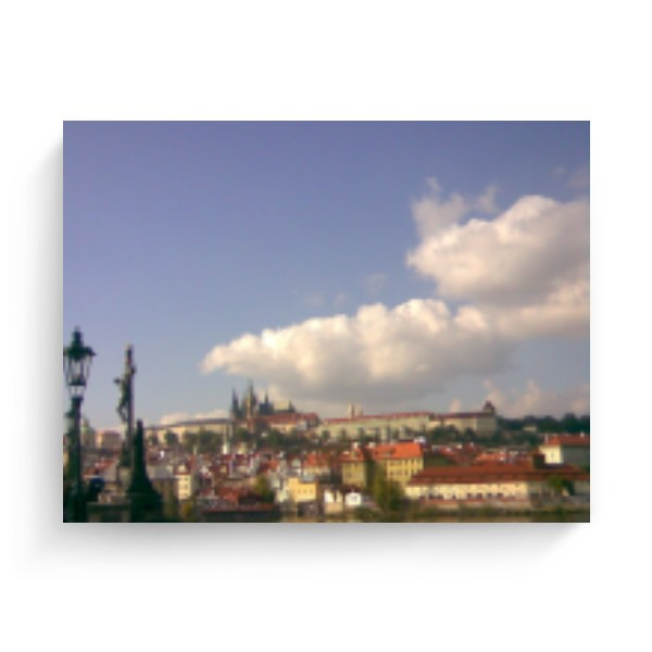 Photo Canvas 4:3 s potiskem Prague castle