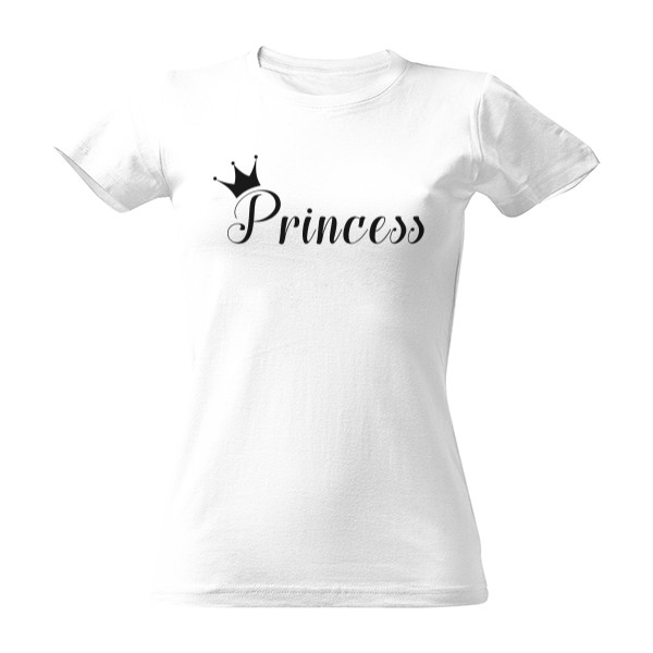 Tričko s potiskem Princess 47eebf5b61