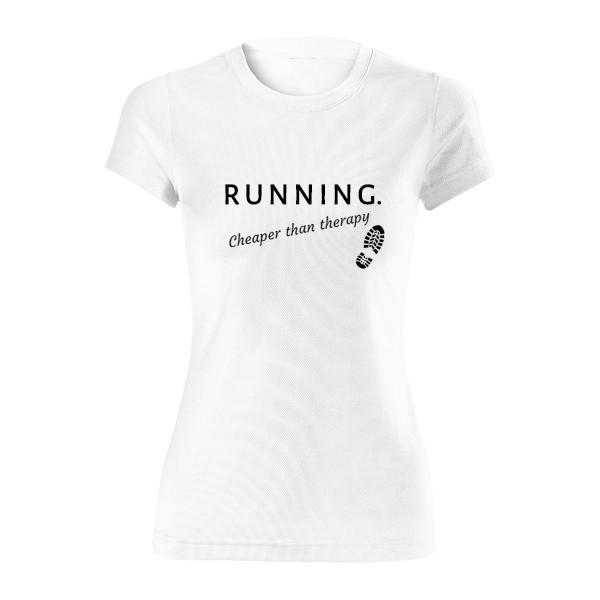 Uprav údaje · Dámské funkční tričko s potiskem Running 079fbc72d5