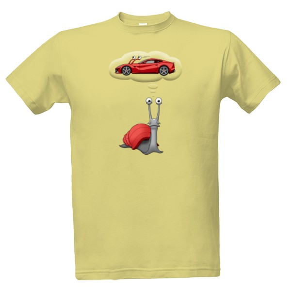 Snail's impossible dream. T-shirt