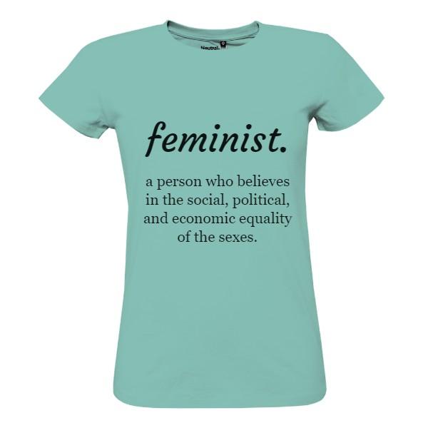 Tričko s potiskem Feminist. 1df0a4443b