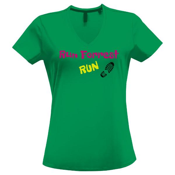 Tričko s potiskem Triko Run Forrest mint 14befd2ead