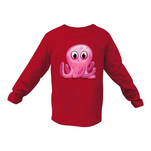 Tričko s potiskem Triko s chobotnicí  cb294758b5