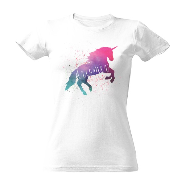 Space Unicorn Dreamer T-shirt