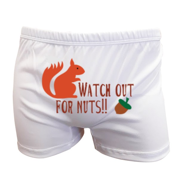 Novia Boxers s potiskem Watch out for nuts