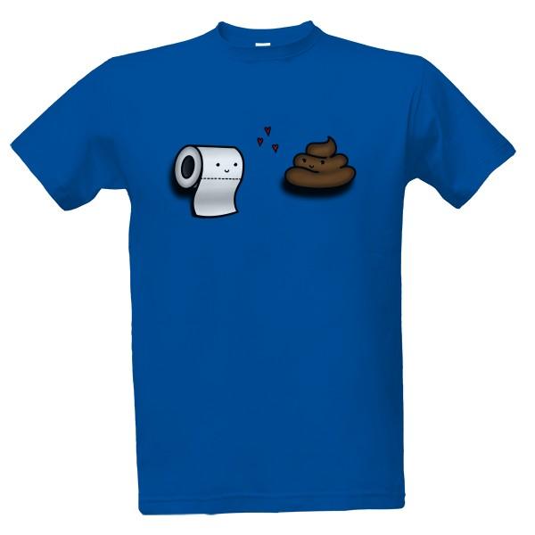 Tričko s potiskem Záchodová láska 4f0c2f3ba1