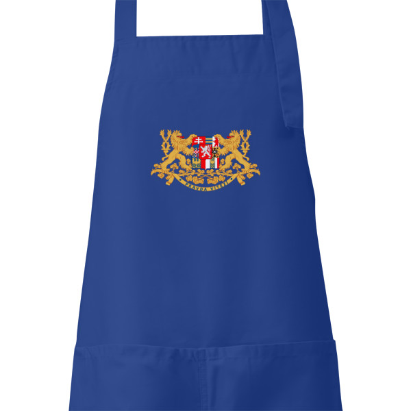 Apron s potiskem Apron for cooking and grilling with MS symbol