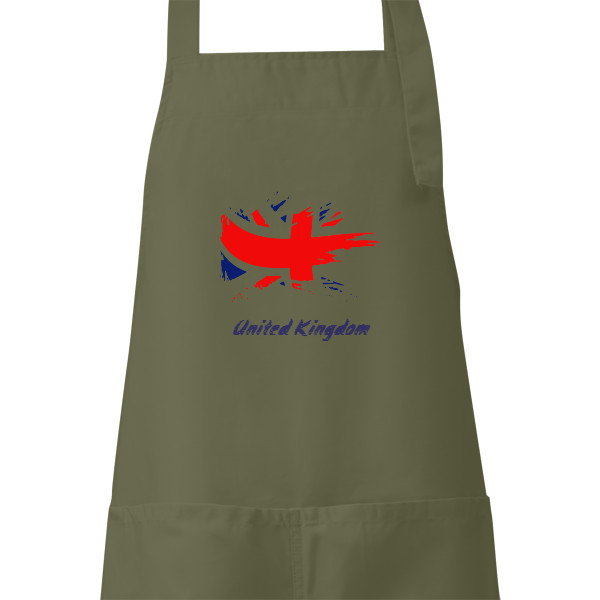Apron s potiskem Apron for cooking and grilling United Kingdom