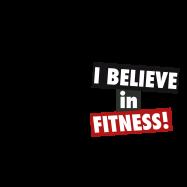 ed9fb29b19b Tričko s potiskem I believe in fitness - pánské